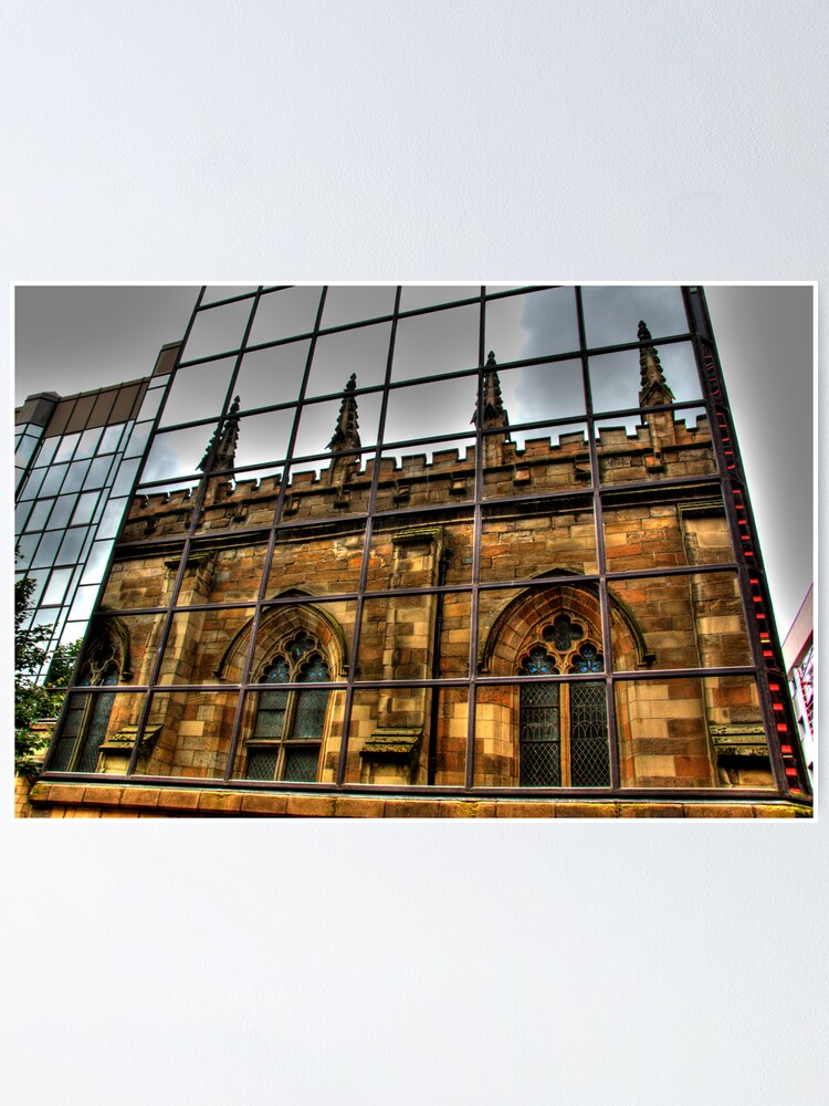 Alternate view of Reflections of Glasgow (2) Poster
