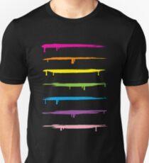 Gay Pride Rainbow Stripes Unisex T-Shirt