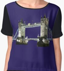 Tower bridge Chiffon Top