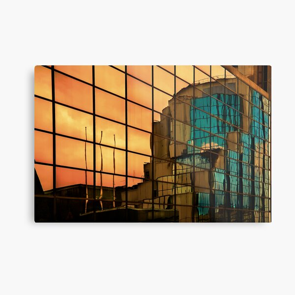 Reflections of Glasgow (4) Metal Print