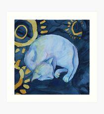 Dreaming of fish Art Print