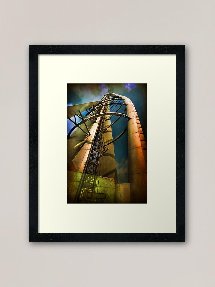 Alternate view of Reach for the Sky Framed Art Print