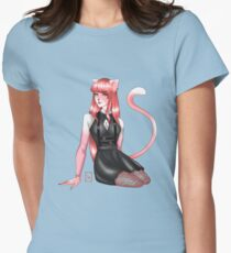 -OC CoCo the Cat- Women's Fitted T-Shirt