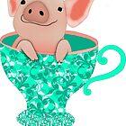 Teacup Piglet by Rookwood Studio ©