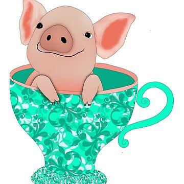 Teacup Piglet by Tatham