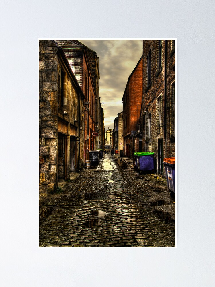 Alternate view of Cobbles Poster