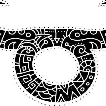 Taurus Zodiac Symbol by TheMaker