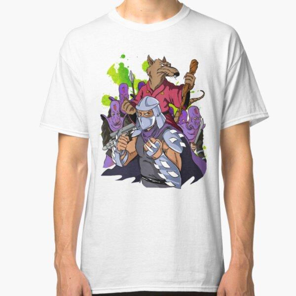 Master Splinter, Shredder, and Foot Soldiers Classic T-Shirt