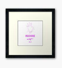 mgk- bloom fun Framed Print
