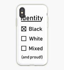 Identität - Rennen Tick Box Design iPhone-Hülle & Cover