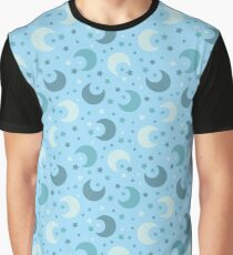 Stars and moons Graphic T-Shirt