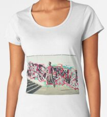 Hipster Abduction Women's Premium T-Shirt