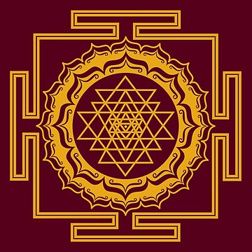 Shri Yantra - Cosmic Conductor of Energy by nitty-gritty