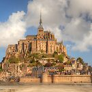 Mont Saint Michel by Michael Matthews