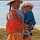 Uros people by Konstantinos Arvanitopoulos