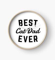 Bester Katzen-Vati überhaupt Uhr