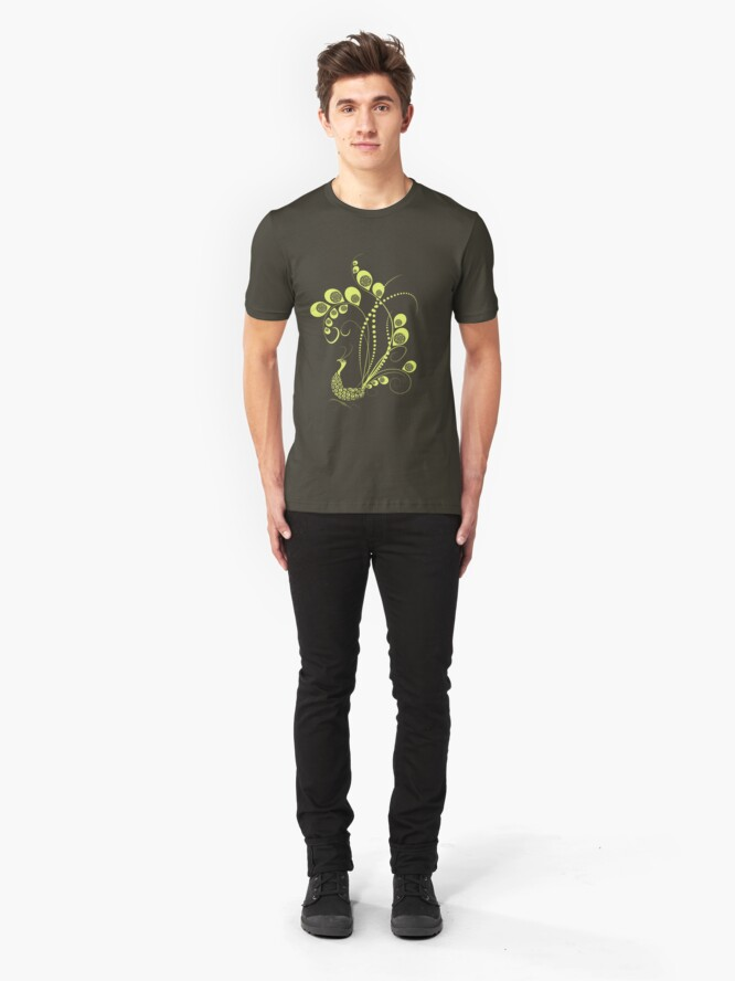 Alternate view of Sunny Peacock Slim Fit T-Shirt