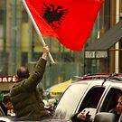 Kosovans Celebrate Independence  by ianturton