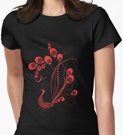 Red Peacock T-Shirt