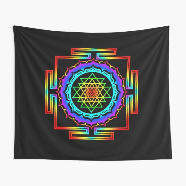 Shri Yantra - Cosmic Conductor of Energy Tapestry