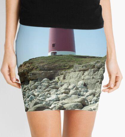 Portland Lighthouse, Dorset Mini Skirt