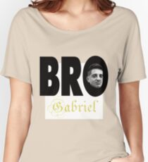 BRO - Gabriel - QWA Women's Relaxed Fit T-Shirt