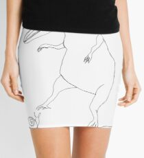 snail & T-Rex Mini Skirt