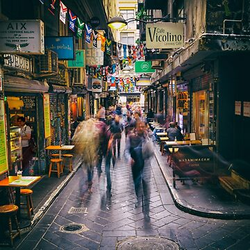 Laneway Traffic by ea-photos