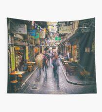 Laneway Traffic Wall Tapestry