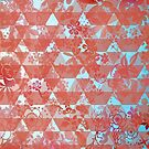 Floral and Geometric Pattern by ILoveTheQuirky