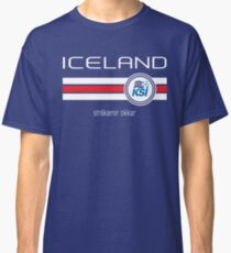 Football - Iceland (Home Blue) Classic T-Shirt