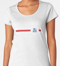 Football - Iceland (Home Blue) Women's Premium T-Shirt