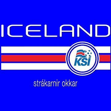 Football - Iceland (Home Blue) by madeofthoughts