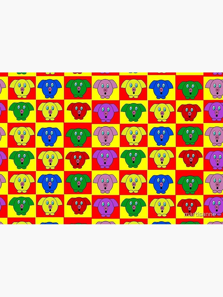 Mister Piggy in Tiles by martisanne