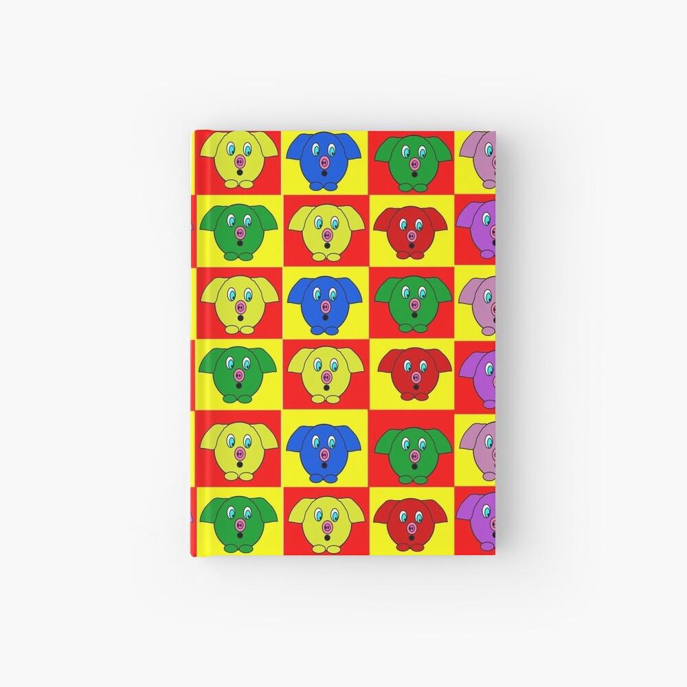 Mister Piggy in Tiles Hardcover Journal