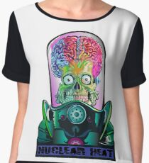 Mars Attacks Chiffon Top