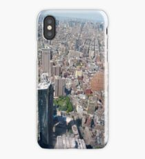 Aerial photography, New York City, Manhattan, Brooklyn, New York, streets, buildings, skyscrapers, #NewYorkCity, #Manhattan, #Brooklyn, #NewYork, #streets, #buildings, #skyscrapers, #cars iPhone Case