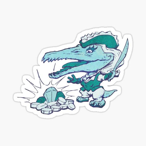 Pirateosaur Sticker