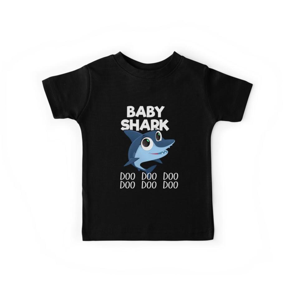 Baby-Haifisch-T-Shirt Doo Doo Doo - lustiges T-Stück für Kinder von EcoKeeps