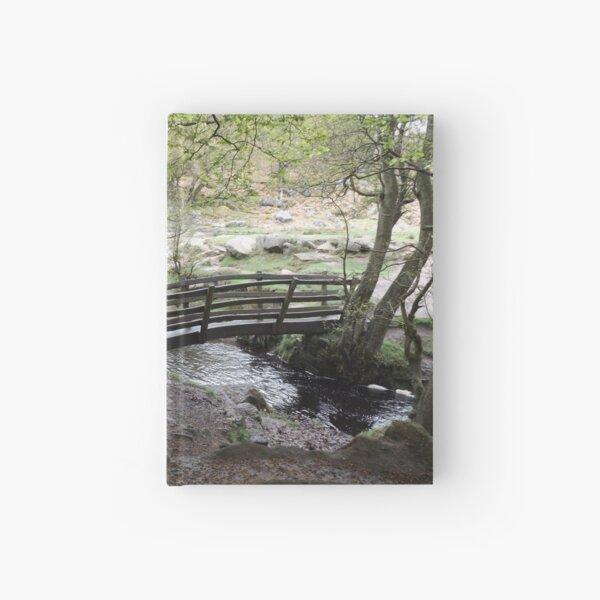 Padley Gorge Bridge Hardcover Journal