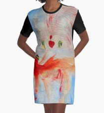 Dance Graphic T-Shirt Dress