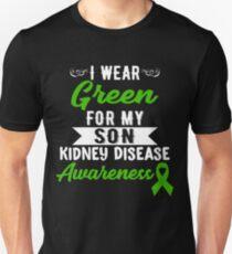 Kidney Disease Awareness For My Son Unisex T-Shirt