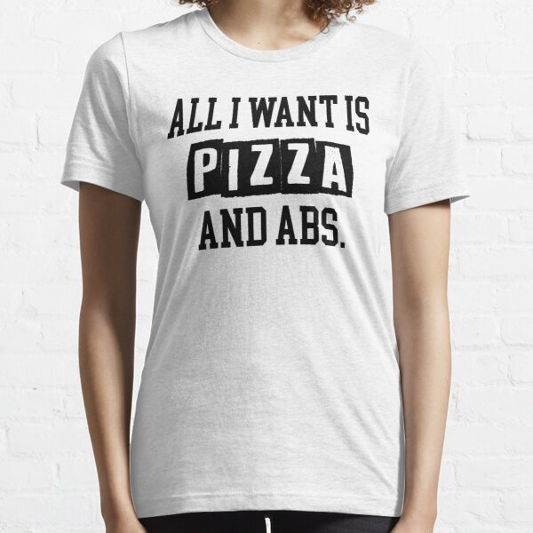 I just want pizza Shirts for Teens Gift Ideas Womens TShirt Tumblr Clothes Printed T Shirt Dope Shirt Funny Cute Graphic Tee