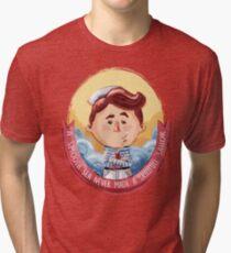 Brave little sailor Tri-blend T-Shirt