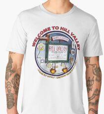 Welcome to Hill Valley - Sky Way Billboard Men's Premium T-Shirt