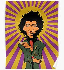 Póster Jimi Hendrix