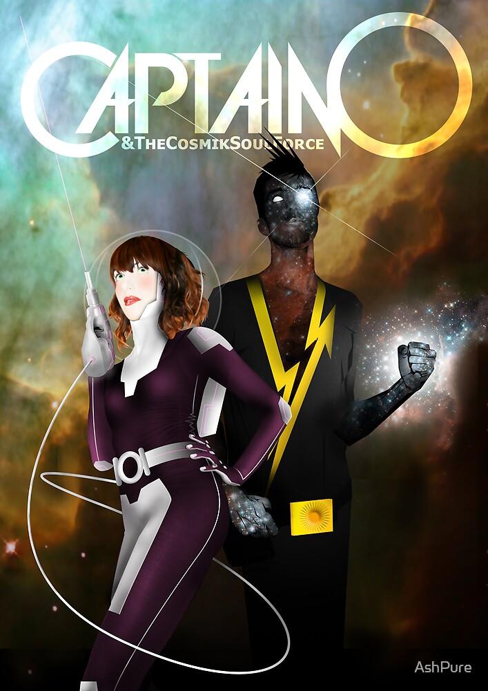 Captain O & The Cosmik Soul Force by AshPure