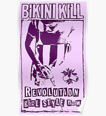Bikini Kill Revolution Girl Feminism Riot Poster