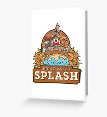 Briar Patch Splash Greeting Card