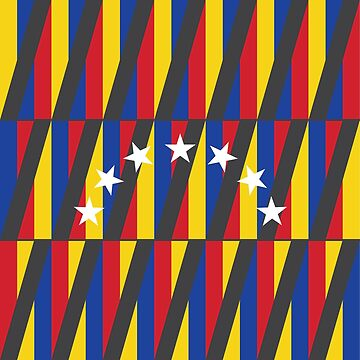 Kinetic Venezuelan Flag by GraphicBureau